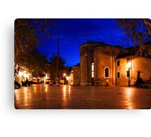 Impressions of Venice - Wandering Around the Secret Squares Canvas Print