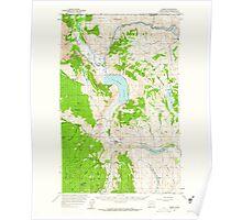 USGS Topo Map Washington State WA Loomis 242061 1956 62500 Poster