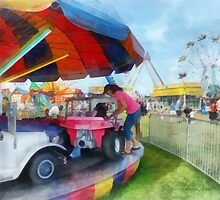 Car Ride at the Fair by Susan Savad