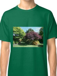 Shrubs and bushes in a garden  Classic T-Shirt