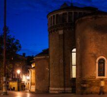 Venice, Italy - Wandering Around the Secret Squares Sticker