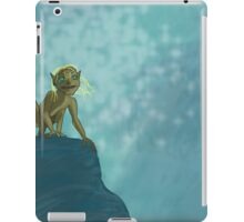 Don't touch my precious, blonde hair! iPad Case/Skin