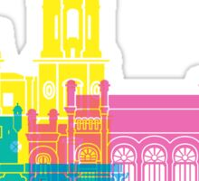 Cadiz skyline pop Sticker