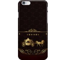 Wedding Luxury Carriage iPhone 4 / iPhone 5 Case iPhone Case/Skin