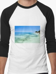 Tropical Island Green Island National Park Men's Baseball ¾ T-Shirt