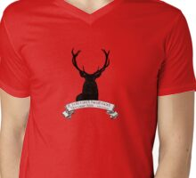 """If you can't beat God.."" - Will Graham / Hannibal  Mens V-Neck T-Shirt"