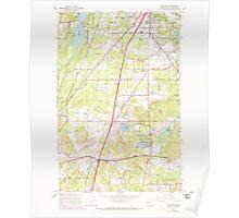 USGS Topo Map Washington State WA Maytown 242228 1959 24000 Poster