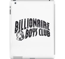 Billionaire Boys Club Logo iPad Case/Skin