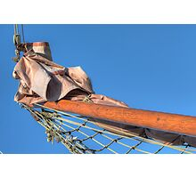Boat bow pole Photographic Print