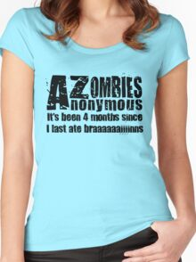 Zombies Anonymous Women's Fitted Scoop T-Shirt