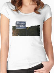 Kyuss - Welcome to Sky Valley Women's Fitted Scoop T-Shirt