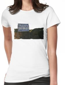 Kyuss - Welcome to Sky Valley Womens Fitted T-Shirt