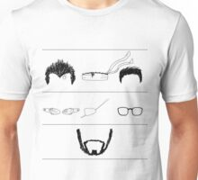 The Beard Remains the Same (WITHOUT TEXT) Unisex T-Shirt