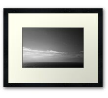 Ireland in Mono: The Only Thing That's Right Framed Print