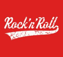 Rock 'n' Roll Vintage (White) by MrFaulbaum