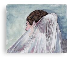 Bridal Veil Canvas Print