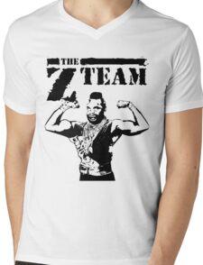 The Z-Team : Brain Attitude Mens V-Neck T-Shirt