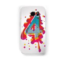 four  Samsung Galaxy Case/Skin