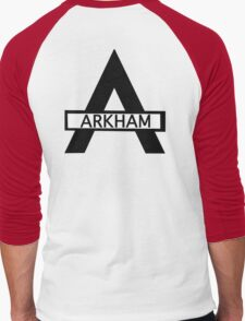 Batman : Arkham Asylum Men's Baseball ¾ T-Shirt