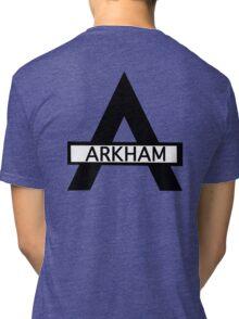 Batman : Arkham Asylum Tri-blend T-Shirt
