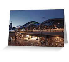 Cologne Station Greeting Card