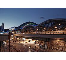Cologne Station Photographic Print