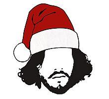 Jon Snow - Christmas Photographic Print