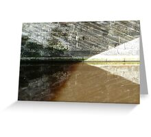Canal Angles Greeting Card