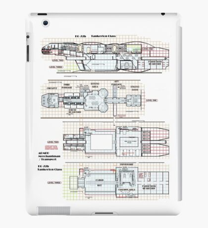 Firefly Serenity Tankerton Class iPad Case/Skin