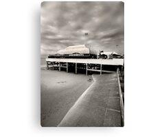 Pier at Burnham Canvas Print