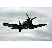 begining of the flight of the corsair Photographic Print