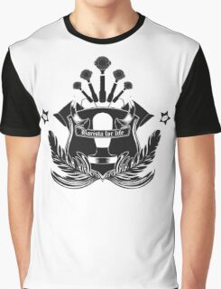 Barista Crest (light tees and hoodies) Graphic T-Shirt