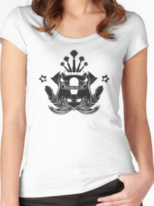 Barista Crest (light tees and hoodies) Women's Fitted Scoop T-Shirt