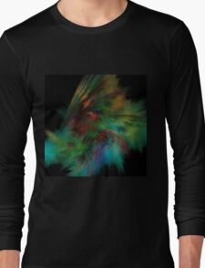 Forces - Abstract Fractal Long Sleeve T-Shirt