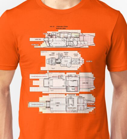 Firefly Serenity Clarence Class Salvageship Unisex T-Shirt