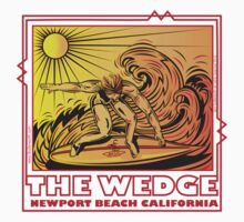 THE WEDGE NEWPORT BEACH CALIFORNIA One Piece - Short Sleeve