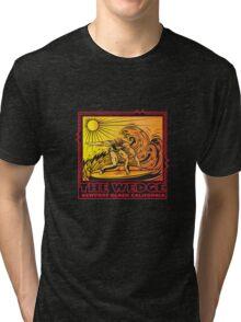 THE WEDGE NEWPORT BEACH CALIFORNIA Tri-blend T-Shirt
