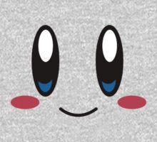 Kirby Face One Piece - Long Sleeve