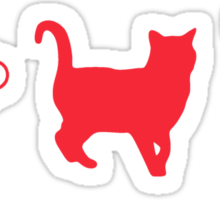 Thunder Cat Hoe Sticker