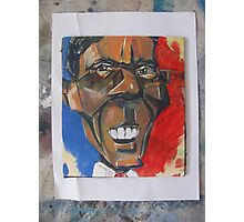 obama abstract Photographic Print