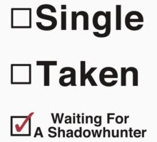 Waiting for a Shadowhunter by Jessica Becker