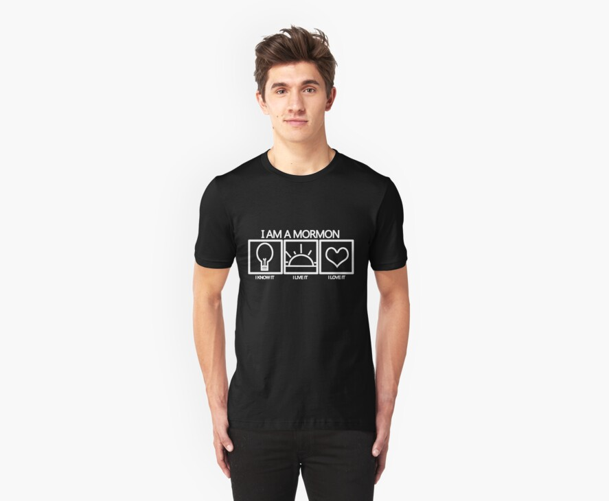 I am a Mormon- I know it, I live it, I love it (light design) by tsebresos
