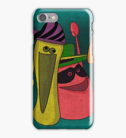 carnival party iPhone Case/Skin