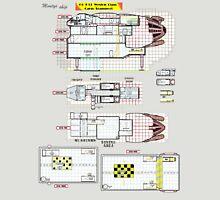 Firefly Ships of the Verse Weston Class Monty's ship Unisex T-Shirt