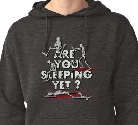 Are You Sleeping Yet ? NEW Pullover Hoodie