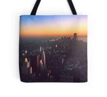 STUNNING! NEW YORK CITY RETRO 1970's Tote Bag