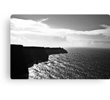 Ireland in Mono: A River That Leads To Your Ocean Canvas Print