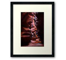 Antelope Canyon, Page Arizona Framed Print
