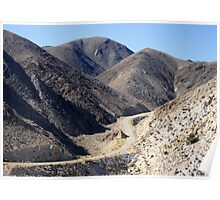 Road Into Death Valley Poster