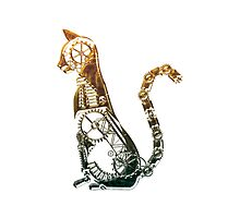 Steampunk bronze cat by Angelaook